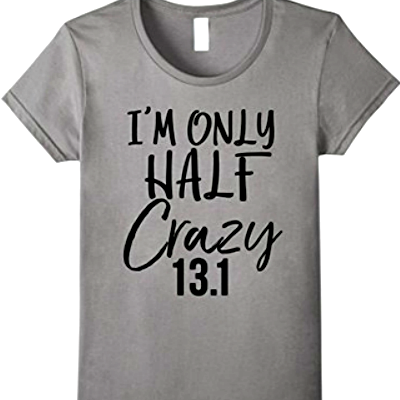 I'm only half crazy