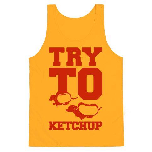funny shirt ketchup